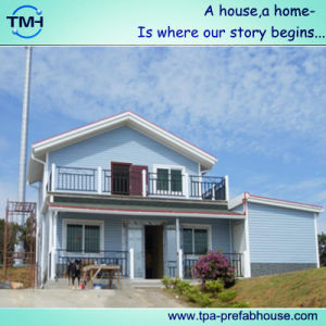 Two Storey Light Steel Villa House for Holiday pictures & photos