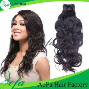 Hand Tied PU Skin Weft with Human Hair pictures & photos