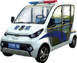 4 Seater Closed Police Patrol Car pictures & photos
