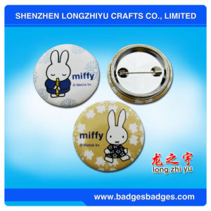 Tinplate Badge Custom Logo Printing Button Badge pictures & photos