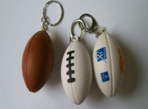 OEM Promotional Mini Football Keychain pictures & photos