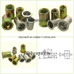 Flat Head Stainless Steel/Carbon Steel Rivet Nut pictures & photos