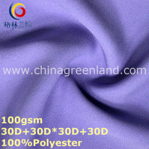 Dyeing Polyester Chiffon Fabric for Textile Clothes (GLLML318) pictures & photos