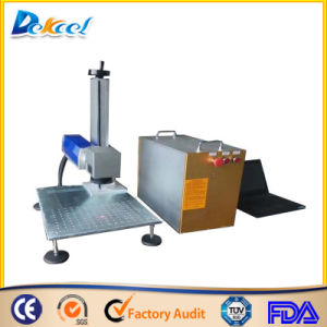 Hot Sale Portable Fiber Laser Marking Machine Price /Metal Nonmetal Laser Marking Engraving pictures & photos