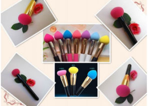 Professional 32piece Hot Pink Synthetic Hair Makeup Brush Factory Wholesale pictures & photos