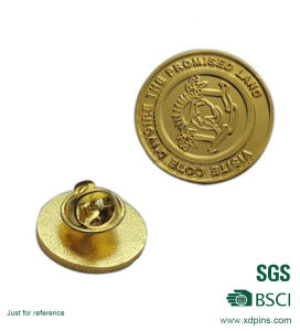 Custom Metal Souvenir Cloth Decoration Lapel Pin (w-247) pictures & photos