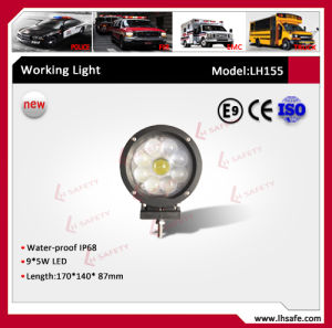 America CREE LED Jeep Wrangler Lamp (LH155) pictures & photos