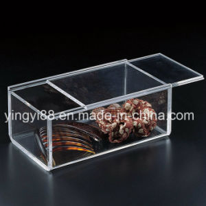 Custom Clear Plastic Acrylic Food Box (YYB-846) pictures & photos