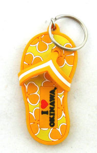 Custom Make Rubber Shoe Keychains pictures & photos