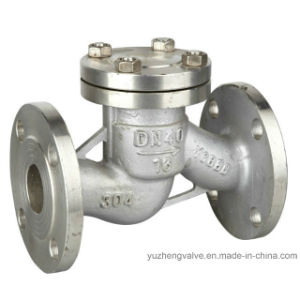 Lift Flanged Stainless Steel Check Valve pictures & photos