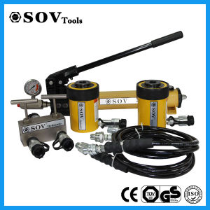 100ton Sov Single Acting Hollow Plunger Jack (SOV-RCH) pictures & photos