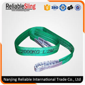Cargo Lifting Webbing Sling Safety Factor 7: 1, 6: 1, 5: 1 pictures & photos