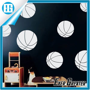 Black Football Adhesive Rooms Walls Vinyl DIY Stickers pictures & photos