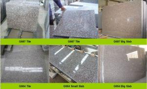 G664 Granite Tiles, G687 Tiles, Pink Granite pictures & photos