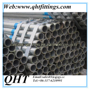 "1"" 1.5"" BS1387 Welded Galvanized Steel Tube pictures & photos"