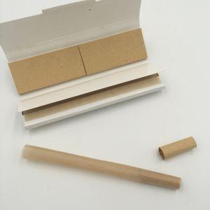 Richer Premium Unbleched Brown Hemp Cigarette Smoking Paper pictures & photos