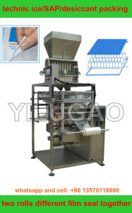 Technic Ice Packing Machine (PLC control; paper and plastic sealing;) pictures & photos
