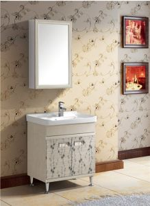 Modern Style Bathroom Vanity with Mirror (T-9750) pictures & photos