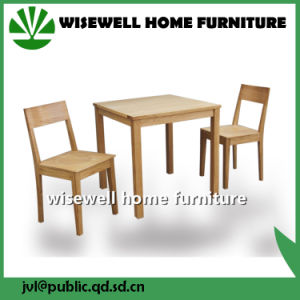 Solid Wood Dining Furniture Set (W-5S-9025) pictures & photos