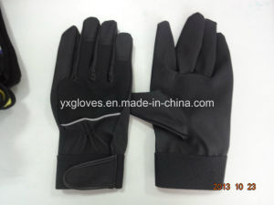 PU Glove-Safety Glove-Work Glove-Industrial Glove-Mechanic Glove pictures & photos