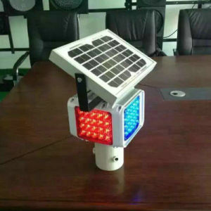 Road Safety Solar Powered Traffic Warning Emergency Light pictures & photos