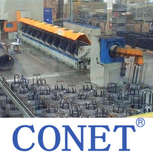 Conet Straight Steel Wire Drawing Machine with Factory Price From China pictures & photos