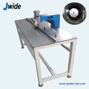 LED PCB Depaneling Cutter Machine with Platform Table pictures & photos