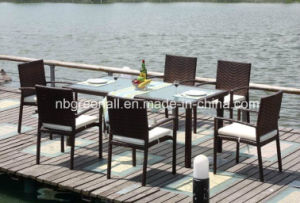 Rattan Party Tables and Chairs pictures & photos