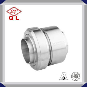 Stainless Steel Union Type Nrv Sanitary Check Valve pictures & photos