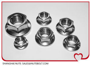 Hexagon Nuts with Flange (DIN 6923) pictures & photos