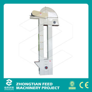 Cheap Grain Conveyor Chain Bucket Elevator for Fish Feed pictures & photos
