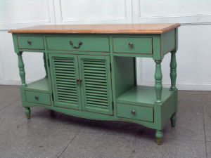 High-Quality Cabinet Antique Furniture with Drawers pictures & photos