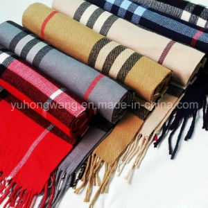 Hot Sale Men Acrylic Woven Scarf