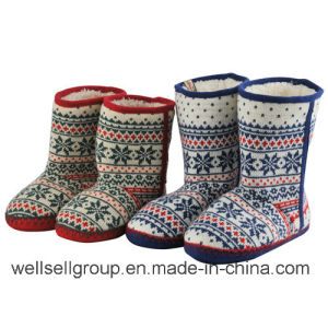 Fashion Multicoloured Snow Boots (CPS-073) pictures & photos
