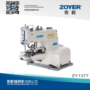Zoyer Juki Direct Drive Button Attaching Industrial Sewing Machine (ZY1377D) pictures & photos