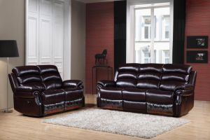 K1538 Leather Reclining Sofa pictures & photos