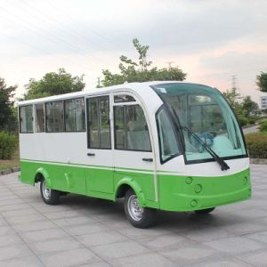 Ce Certificate 14 Seats Electric Mini Bus with Closed Hard Door (DN-14F) pictures & photos