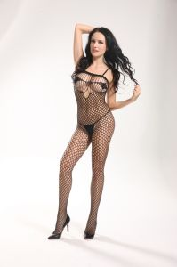 Sexy Fishnet Bodystocking with Crotchless Design 8898 pictures & photos