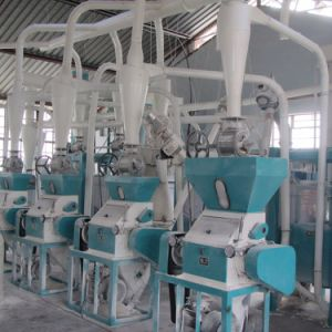 Congo 30t Maize Mill Machines Grinding for Super White Semoule and Farina pictures & photos