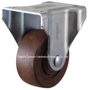 High Temperature 280 Degree Rigid Caster (Brown) pictures & photos