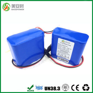 China 18650 Battery 14.8V 4400mAh pictures & photos