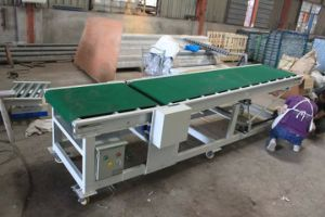 Adjustable Inclined Belt Conveyor pictures & photos