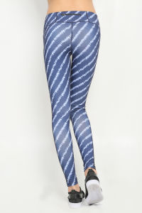 Yoga Pants Striped Tight Leggings Seamless Sportive for Ladies (AK15-0005) pictures & photos
