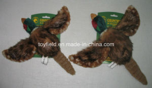 Pet Toy Plush Squeaker Pheasant Dog Toy pictures & photos