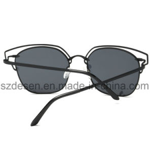 Fashion Cat Eye Mirrored Lenses Women Sunglasses pictures & photos