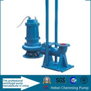 Vertical Non-Clog Sewage Centrifugal Submersible Water Pump pictures & photos