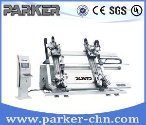 Parker Ce Approved Four Corner Aluminum Window Door CNC Crimping Machine pictures & photos