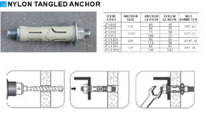 Good Quality Low Price Nylon Tangled Anchor pictures & photos