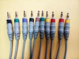 Mortara 15pin IEC Clip 10 EKG/ECG Cable pictures & photos