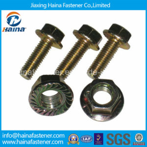 Made in China High Quality Zinc-Plated Flange Bolts Gr5 pictures & photos